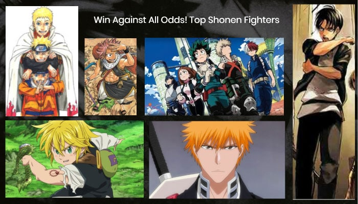 Win Against All Odds! Top Shonen Fighters