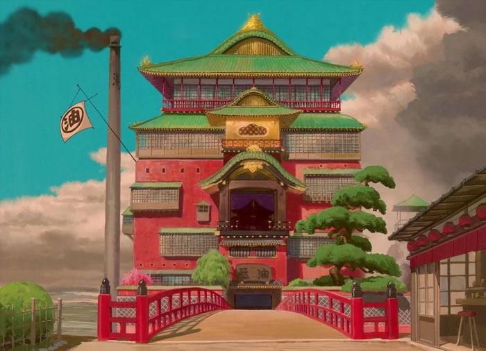 Yubaba's Bathhouse (Spirited Away)