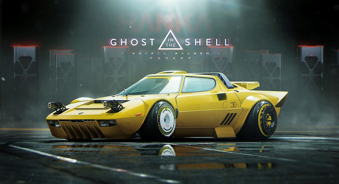 Lancia Stratos (Ghost in the Shell)